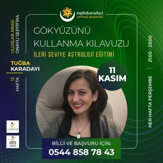 İleri Seviye Astroloji Eğitimi 2021