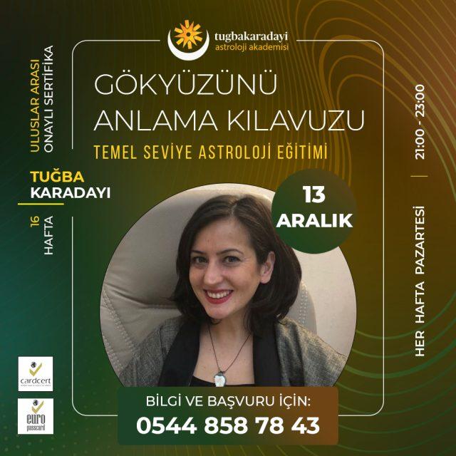Temel Seviye astroloji eğitimi 2021